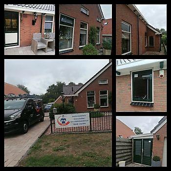 Woning in Veele  , rondom weer strak in het lak Schildersbedrijf Klein Westerlee
