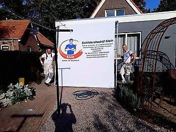Airless spuiten Schildersbedrijf Klein Westerlee