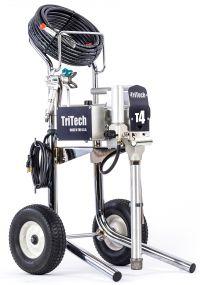 Een nieuwe aanwinst, TRITECH T4 Airless verfspuit Schildersbedrijf Klein Westerlee